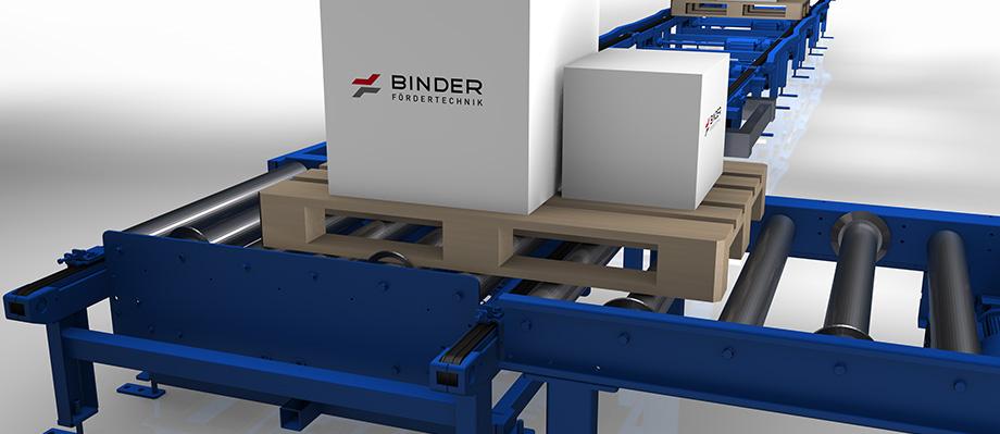 Eckumsetzer von BINDER: Zuverlässig, schnell, robust.