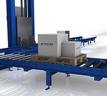 Roller Bed by BINDER material handling.