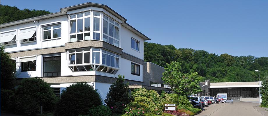 Firmensitz der BINDER Fördertechnik in Burstetten bei Stuttgart.